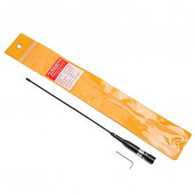 NAGOYA Antena Dual Band NL-R2 for Walkie Talkie Taffware Pofung - Black - 6
