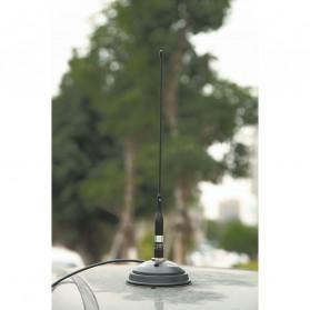 NAGOYA Antena Dual Band NL-R2 for Walkie Talkie Taffware Pofung - Black - 8