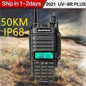 Baofeng Walkie Talkie Dual Band Radio  - UV-9R Plus - Black