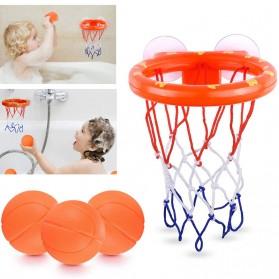 JOKEJOLLY Mainan Bola Basket Bayi Anak Children Basketballs Toy - SCH2020 - Orange