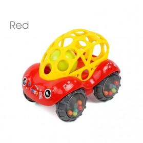 DUDU&DIDI Mainan Mobil-Mobilan Bayi Anak Children Funny Car Toy - DZ1012 - Red