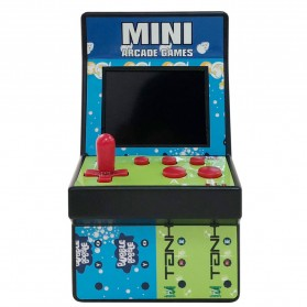 Hobi - Ipega 8 Bit Mini Arcade Game Console 200 in 1 - PG-9093 - Mix Color