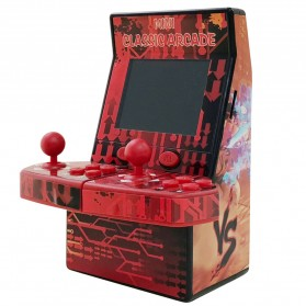 Ipega 8 Bit Mini Arcade Game Console 2 Player 183 in 1 - PG-9092 - Red - 2