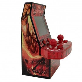 Ipega 8 Bit Mini Arcade Game Console 2 Player 183 in 1 - PG-9092 - Red - 3