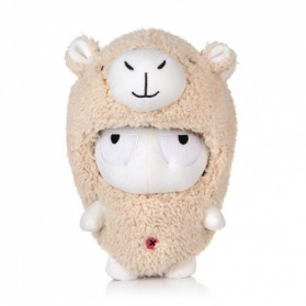 Plush Toy Boneka Xiaomi Mi Bunny Alpaca Version - Brown