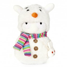 Plush Toy Boneka Xiaomi Mi Bunny Snowman Version - White