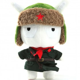 Plush Toy Boneka Xiaomi Mi Bunny Military Version - White