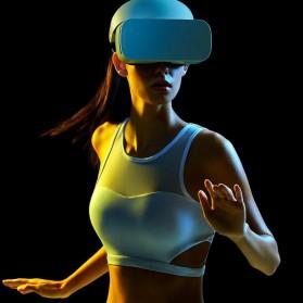 Xiaomi VR 3D Glass Kacamata VR dengan Remote Control - White - 12