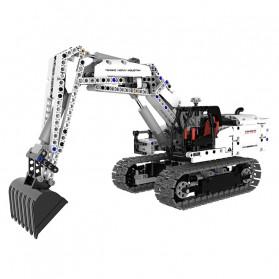 Xiaomi MITU Building Block Toy Mainan Truk Excavator - GCWJJ01LQL - White
