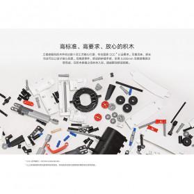 Xiaomi MITU Building Block Toy Mainan Truk Excavator - GCWJJ01LQL - White - 10