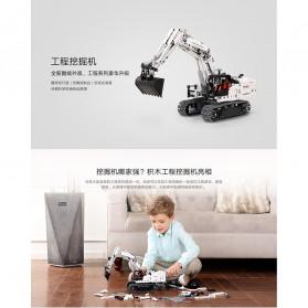 Xiaomi MITU Building Block Toy Mainan Truk Excavator - GCWJJ01LQL - White - 6