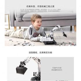 Xiaomi MITU Building Block Toy Mainan Truk Excavator - GCWJJ01LQL - White - 7