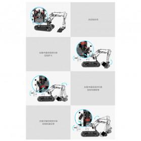 Xiaomi MITU Building Block Toy Mainan Truk Excavator - GCWJJ01LQL - White - 9