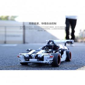 Xiaomi MITU Smart Building Block Toy Mainan Remote Control Mobil Balap - GLSC01IQI - White - 10