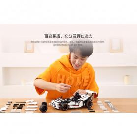 Xiaomi MITU Smart Building Block Toy Mainan Remote Control Mobil Balap - GLSC01IQI - White - 11