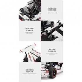Xiaomi MITU Smart Building Block Toy Mainan Remote Control Mobil Balap - GLSC01IQI - White - 5