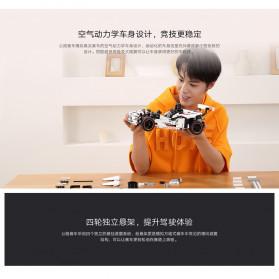 Xiaomi MITU Smart Building Block Toy Mainan Remote Control Mobil Balap - GLSC01IQI - White - 6