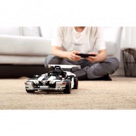 Xiaomi MITU Smart Building Block Toy Mainan Remote Control Mobil Balap - GLSC01IQI - White - 7