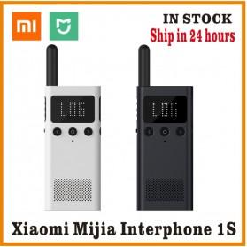 Xiaomi Mijia 1S Smart Walkie With FM Radio Speaker Standby Smartphone APP Location - MJDJJ03FY - White - 2