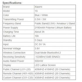 Xiaomi Mijia 1S Smart Walkie With FM Radio Speaker Standby Smartphone APP Location - MJDJJ03FY - White - 8