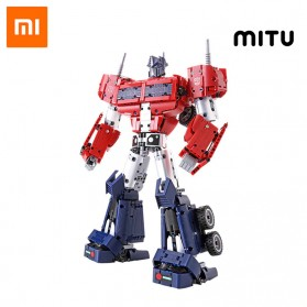 Xiaomi MITU Smart Building Blocks Mainan Robot Transformers Optimus Prime - QTZ01IQI