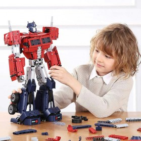 Xiaomi MITU Smart Building Blocks Mainan Robot Transformers Optimus Prime - QTZ01IQI - 5