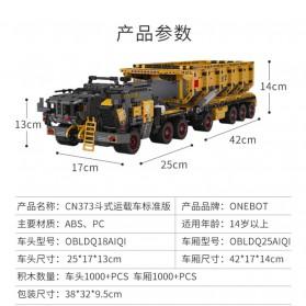 Xiaomi ONEBOT Wandering Earth Building Block Mini Truck Mainan Truk - CN-373 - 5