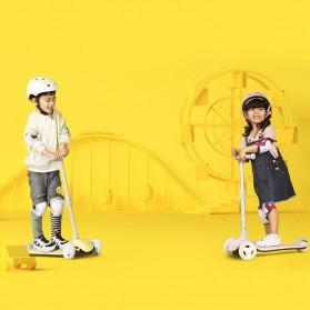 Xiaomi Mijia Mitu Skuter Anak 3 Wheel Kick Scooter - HBC01YM - Blue - 4