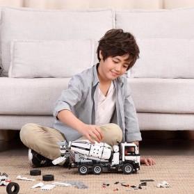 Xiaomi Mitu DIY Building Blocks Mainan Anak Truk Molen 900+ Parts - GCJBJ01IQI - White - 3
