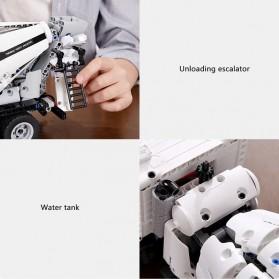Xiaomi Mitu DIY Building Blocks Mainan Anak Truk Molen 900+ Parts - GCJBJ01IQI - White - 4