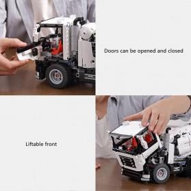 Xiaomi Mitu DIY Building Blocks Mainan Anak Truk Molen 900+ Parts - GCJBJ01IQI - White - 5