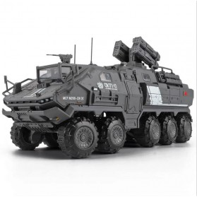 Xiaomi ONEBOT Building Block Wandering Earth Troop Carrier Mainan Mobil Tank  - CN-171 - Black