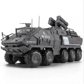 Xiaomi ONEBOT Building Block Wandering Earth Troop Carrier Mainan Mobil Tank  - CN-171 - Black - 1