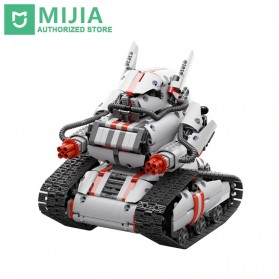 Mainan Anak & RC Helicopter - Xiaomi MITU Building Block Toy Mainan Tank Mecha Crawler - JMJQR03IQI - White
