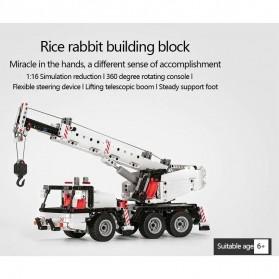 Xiaomi MITU Building Block Toy Mainan Truk Crane - MTJM03IQI - White - 3