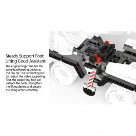 Xiaomi MITU Building Block Toy Mainan Truk Crane - MTJM03IQI - White - 8