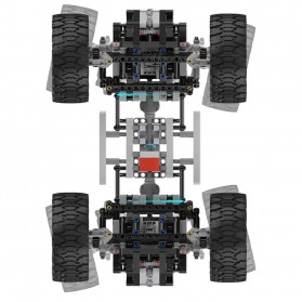 Xiaomi MITU Building Block Toy Mainan RC Monster Truck Bigfoot RC - YYSQC011IQI - White - 7