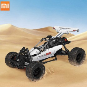 Mainan Anak & RC Helicopter - Xiaomi MITU Building Block Toy Mainan Mobil Car Dessert Racing - SMSC0IQI - White