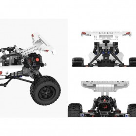Xiaomi MITU Building Block Toy Mainan Mobil Car Dessert Racing - SMSC0IQI - White - 6