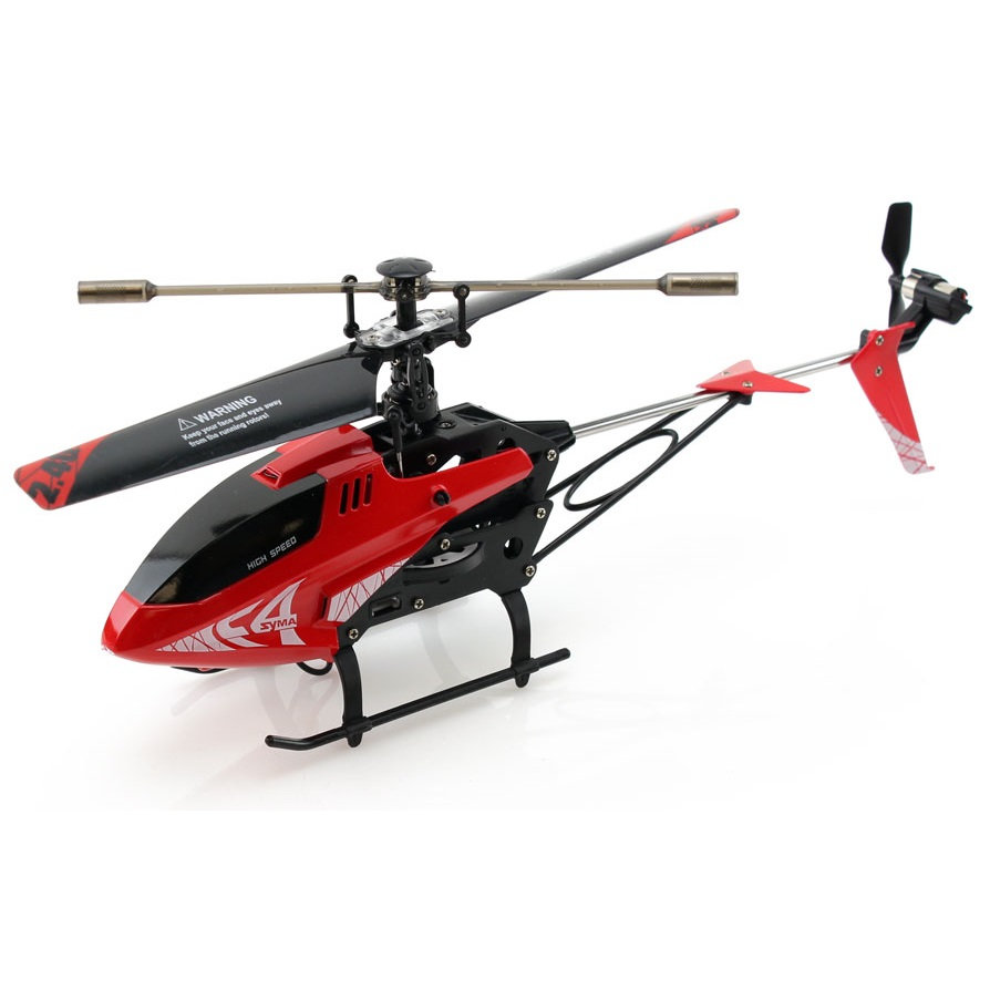 Syma f4 ch remote control 2 4g rc helicopter with gyro for Helicoptere syma