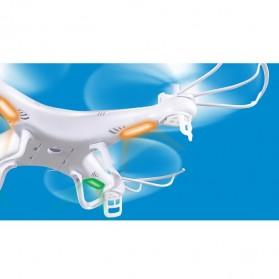 Syma X5C HD Camera Explorer 4CH Remote Control 2.4G 6 Axis Quadcopter with GYRO - White - 7