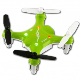 Syma X12 Nano 4CH Remote Control 2.4G 6 Axis Quadcopter with GYRO - Green