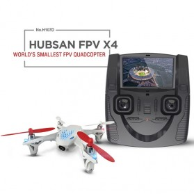 Hubsan FPV X4 Mini Drone Quadcopter with Camera - H107D - White