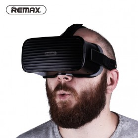 Remax All in One Virtual Reality VR Smart Glasses 3D Movie - RT-V02 - White