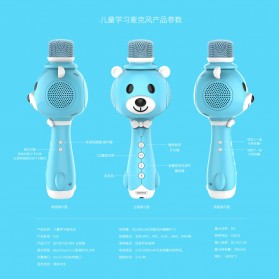 Remax Learning Microphone - K10 - Blue - 5