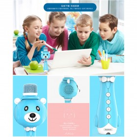 Remax Learning Microphone - K10 - Blue - 6