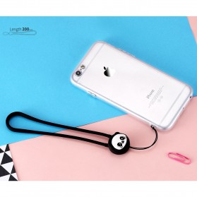 Remax Smartphone Cartoon Lanyard Size Short Model Pink-3 - Pink - 3