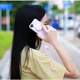 Remax Smartphone Cartoon Lanyard Size Short Model Pink-3 - Pink - 6