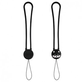 Remax Smartphone Cartoon Lanyard Size Long Model Black-3 - Black