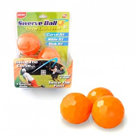 Mainan Bola Curveball - Orange